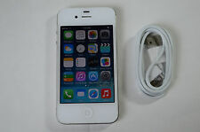 Great Cond.! iPhone 4-16GB-White CDMA for (STRAIGHT TALK OR VERIZON PREPAID)