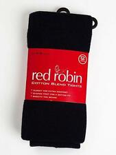 GIRLS School RED ROBIN THICK winter TIGHTS R40181 NAVY Blue & Bottle GREEN