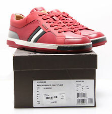 Bally Airone Red Marasco 100% Authentic shoes