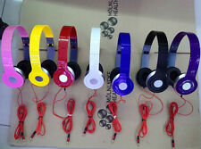 For Phone Laptop PC Tablet MP3 MP4 3.5mm Headphone Earphone Headset Stereo New