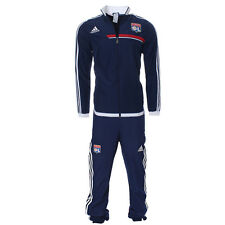 adidas Olympique Lyon Kinder Trainingsanzug Sportanzug Jogging Sport G74843