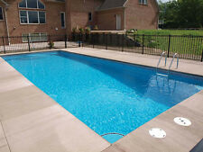 In-Ground Fiberglass Pool - Leading Edge - Pentwater - Do It Yourself Package