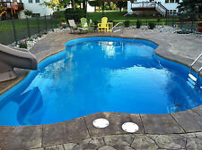 In-Ground Fiberglass Pool - Leading Edge - Grand Traverse - Do It Yourself Pack