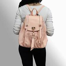 Womens Backpack Bag Rucksack Fashion Leather Vintage Travel School Cute New