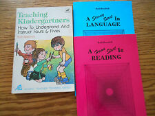 Ruth Beechick set (Teaching Kindergartners/Language/Reading)