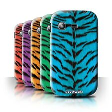 STUFF4 Back Case/Cover for Samsung Galaxy Pocket/S5300/Tiger Animal Skin/Print