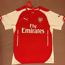 Arsenal 2014 - 2015 Home Shirt  Adult New with tags