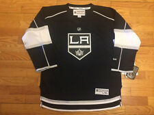 New Reebok Los Angeles Kings Youth Replica Home Blank Jersey - Black