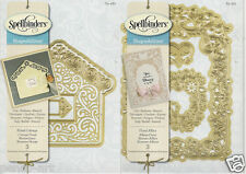 Spellbinders Shapeabilities Cut Emboss Stencil Floral Cottage and floral Affair