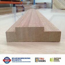 Door Jamb Solid Meranti Timber External 138mm Wide Double Rebated 2.1m 2.4m 2.7m