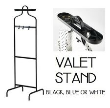 IKEA VALET STAND CLOTHES RACK PORTABLE ORGANISER HANGER GARMENTS ACCESSORY HOLD