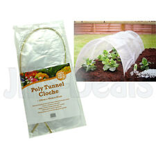 GARDEN CLOCHE POLY TUNNEL PLANT FRUIT VEGETABLE MINI GREENHOUSE FROST PROTECTION