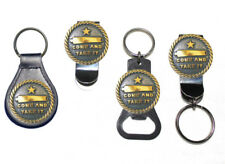 Come and Take It Bottle Opener Key Fob Key Holder Money Clip