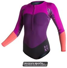 Roxy XY Bikini Springsuit Wetsuit Swimsuit Neoprene 1mm Front Zip BEST SELLER
