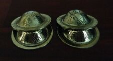 Set ZILLS Brass Finger Cymbals Belly Dance Gold & Silver.