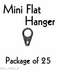 "Mini Flat Picture Frame Mirror Hanger ~ 5/8"" { Lot of 25 with Nails } by PLD"