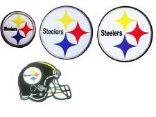 New NFL Pittsburgh Steelers embroidered iron-on patch.