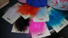 Marabou Fluffy Real Feathers Weddings Crafts 7 Colours Cards Scrapbooking 4/5""