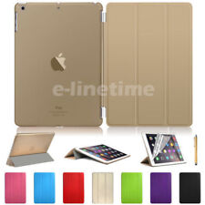 Slim-Fit Magnetic Leather Smart Cover Back Case for iPad 4 3 2 mini Air Pro LOT