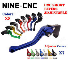 CNC Short Brake Clutch Lever Fit Triumph Speed Triple 04-07 Speed Four 05-06