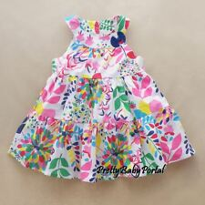 NEW GIRLS Baby Toddler Kid's Sleeveless Floral Cotton Dress