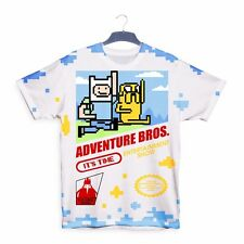 Adventure Bros. Mario Time 3D All Over Print T shirt