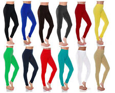 Full Length COTTON Leggings - All Colors and Sizes