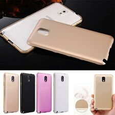 Luxury Aluminum Metal Bumper Frame +PC Back Case Cover For Samsung Galaxy note