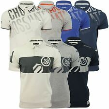Mens Polo Shirt by Crosshatch Short Sleeved