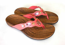 Vionic Orthaheel Eve Thong Sandals w/ Jewels Arch Support PREOWNED
