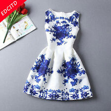 Fashion summer dresses for women vestidos de festa white sleeveless dresse New