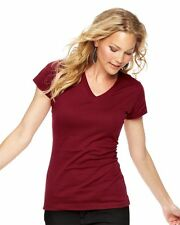 LAT - Junior Fit Fine Jersey V-Neck Longer Length T-Shirt - 3607 S-2XL