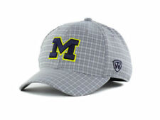 """Michigan Wolverines NCAA TOW """"Plaidee"""" Stretch Fitted Hat New With Tags"""