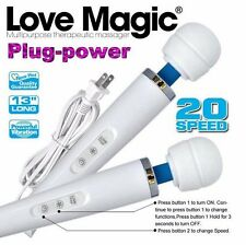 2015 NEW 20 Speed Magic Wand Massager Hitachi Motor  Purple Black White