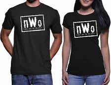 New World Order T-Shirt nWo Logo WCW Professional Wrestling Size S-3XL