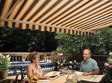 12' SunSetter Motorized Awning in Acrylic Fabric by SunSetter Awnings