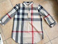 BURBERRY BRIT BLOUSE FREE SHIPPING FOR WOMEN COLOUR NEW CLASSIC CHECK