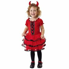 New Totally Ghoul Toddler Frilly Lil' Devil Halloween Costume