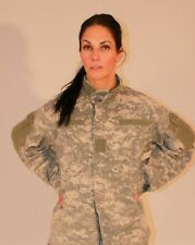 ARMY COMBAT UNIFORM ACU DIGITAL JACKET WINDPROOF AIRSOFT W/ ELBOW PADS ALL SIZES
