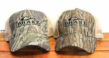 DRAKE Waterfowl Systems Camo HS Refuge Mesh Back Cap