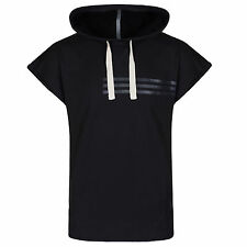 adidas Performance Mens Combat Sleeveless Hoodie Pullover Sweater Hoody Black