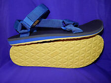 TEVA Mens Sizes 12 or 13 Original Universal Sport Sandal BLUE YELLOW New!!