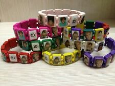 One Direction 1D Wooden Elasticated Bracelet Wristband