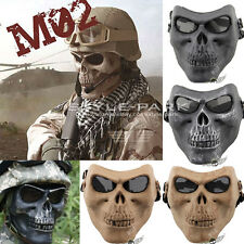 Skull CS Tactical Military Skeleton Full Face Mask Hunting Party Scary Halloween