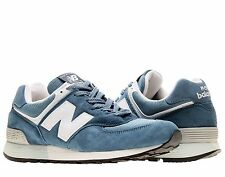 """Made In The  USA !  New Balance 576 """"ND3 """" Blue/Gray/White Mens Running Shoes"""