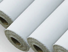 "New White Sheeting Fabric Poly Cotton Sheeting Fabric Full Rolls 94"" 240cm Wide"