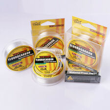 Fluorocarbon Fishing Line 50M/100M/150M  4.4LB-35.2LB  Color Clear