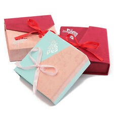 Hot Paper Bowknot Jewelry Watch Bracelet Bangle Gift Box Present Case Cardboard