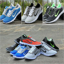 NEW RUNNING TRAINERS MEN'S WALKING SHOCK ABSORBING SPORTS FASHION SHOES SIZE