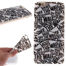 Vans off the wall Soft Silicone TPU Skin Case Cover for Cell Phones